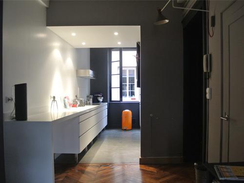 Espace cuisine ouverte