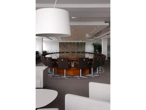 Espace détente de la salle du conseil