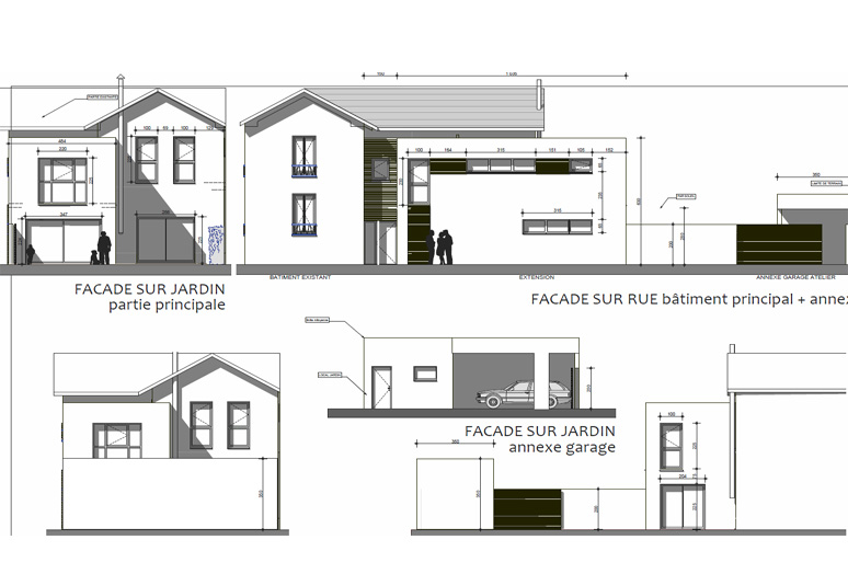 awesome extension maison ann e 30 photos. Black Bedroom Furniture Sets. Home Design Ideas