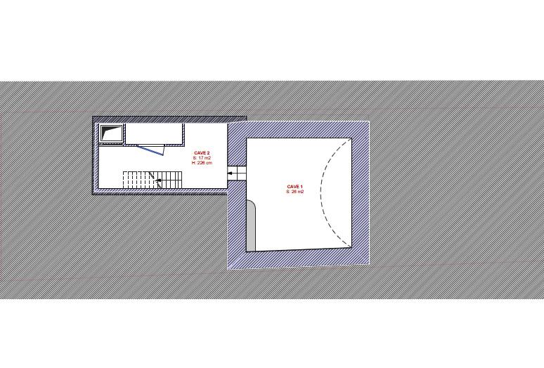 plan etat des lieux sous-sol