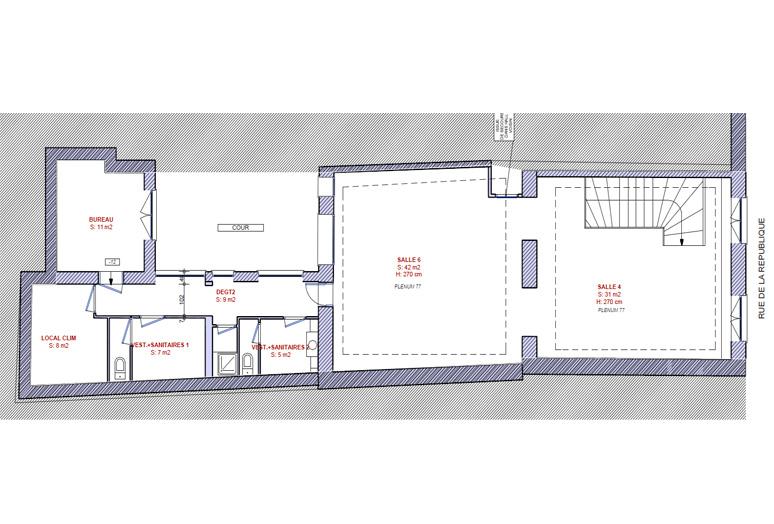 plan etat des lieux etage 1