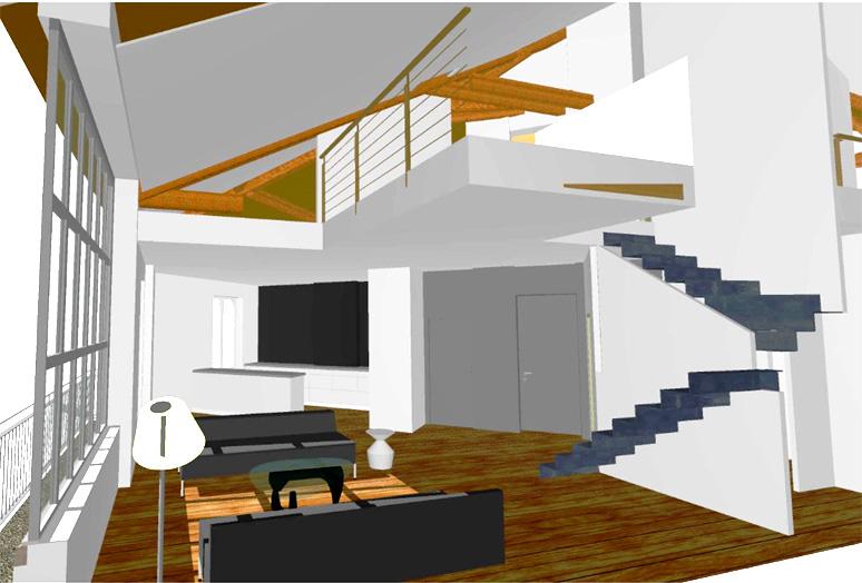 amenagement appartement duplex