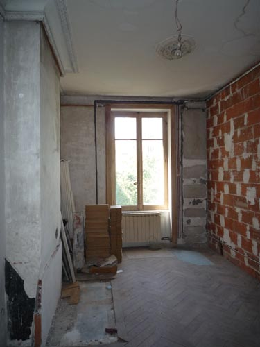 Avant travaux - chambre parents