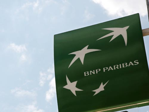 FRANCE-ILLUSTRATION-BUSINESS-BANK-BNP-DEFENSE