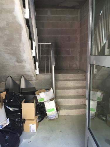 Escalier avant travaux 1