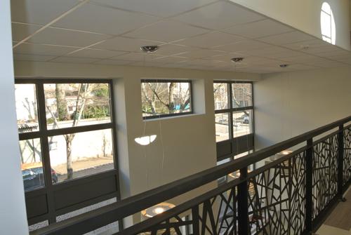 Mezzanine après travaux